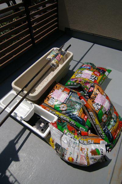アイリスオーヤマのゴーヤ栽培キット