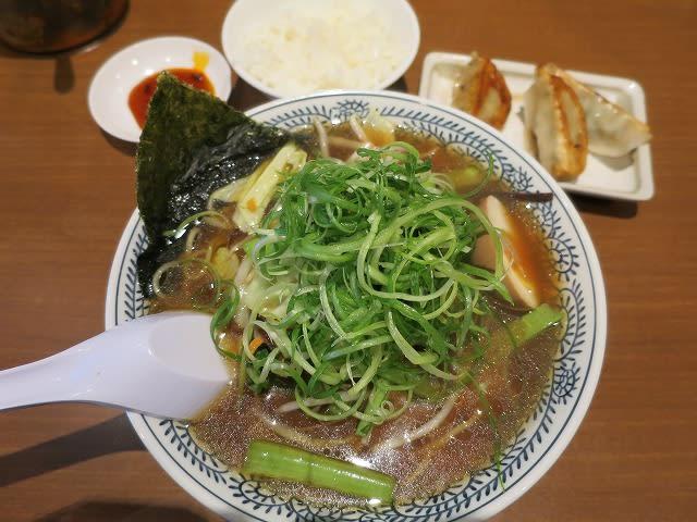 青菜野菜熟成醤油ラーメンサービスランチ