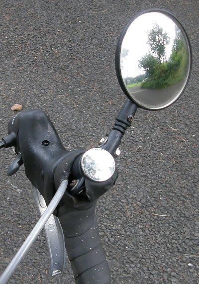 エンドミラーを自作@自転車 ...