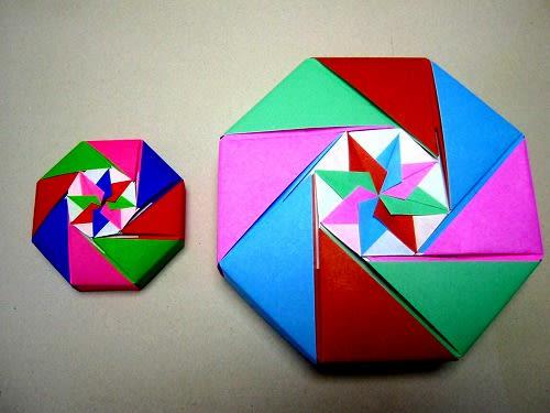 すべての折り紙 数字 折り紙 : 折り紙(箱)いろいろ ...