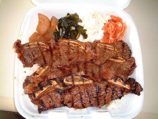 ハワイ1日目昼食ヤミーBBQ