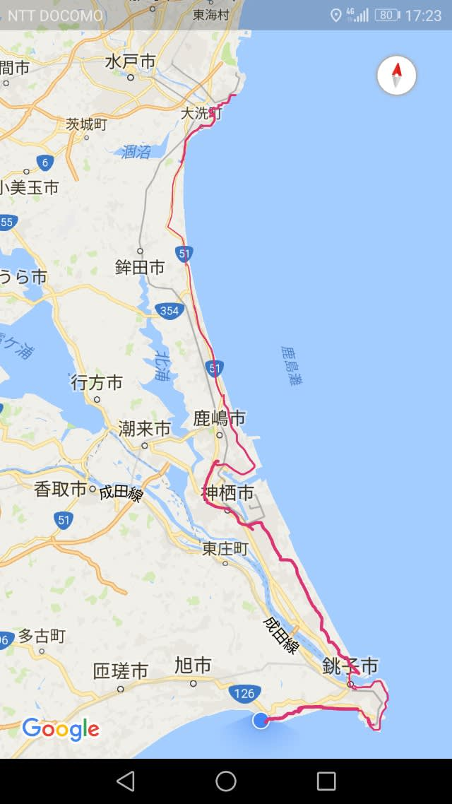 KBの日本一周チャリ旅
