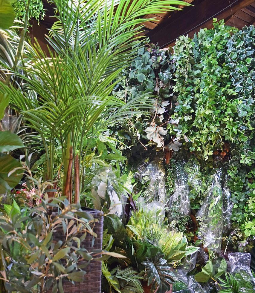 フェイクグリーン 人工観葉植物 樹木 造花 店舗の画像