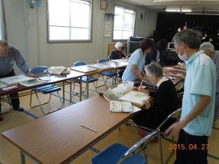 絵画教室・手芸教室 同時開催