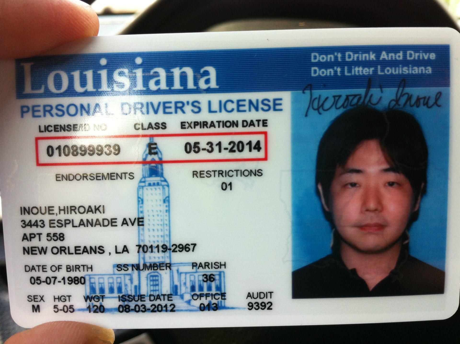 Louisiana drivers license handbook pdf