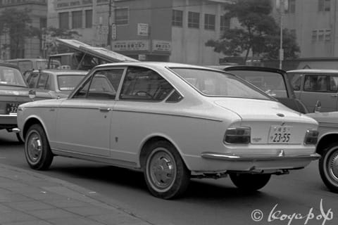 Toyota Corolla Sprinter 1968 ファストバックスタイルのカローラ スプリンター