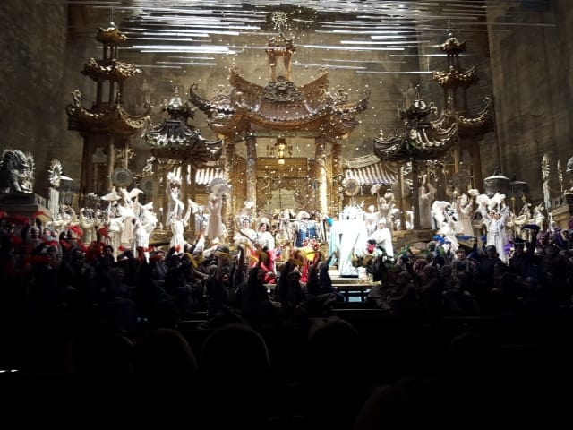 メトロポリタンオペラハウスでトゥーランドットの夜
