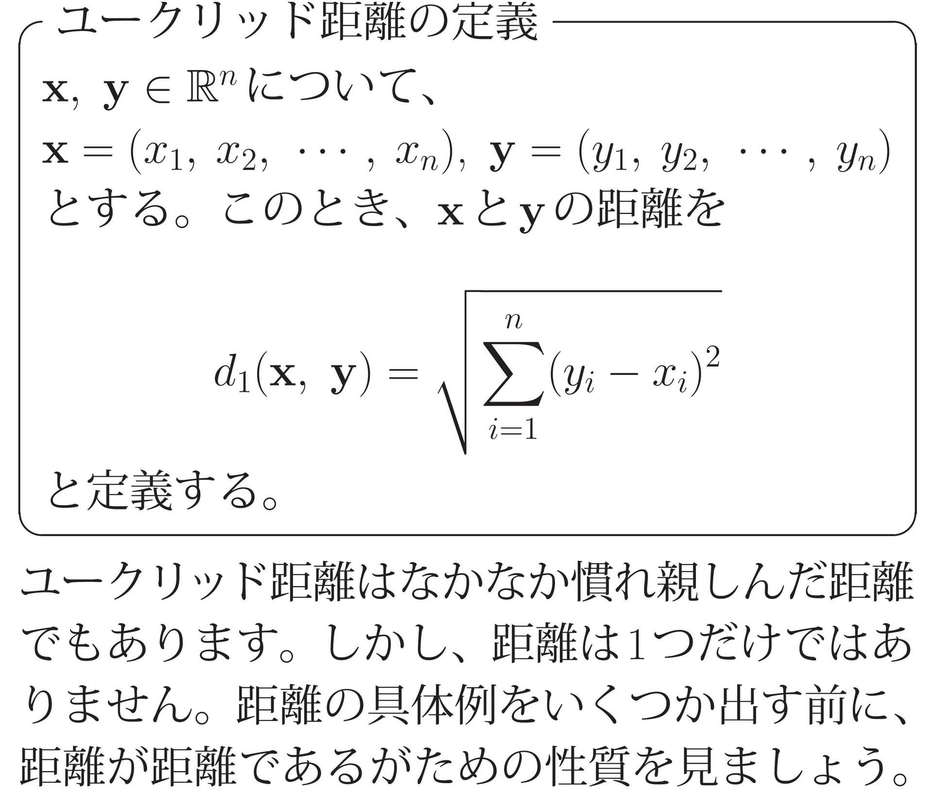 距離空間 - Metric space