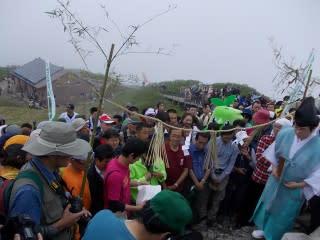 山開き山頂祭
