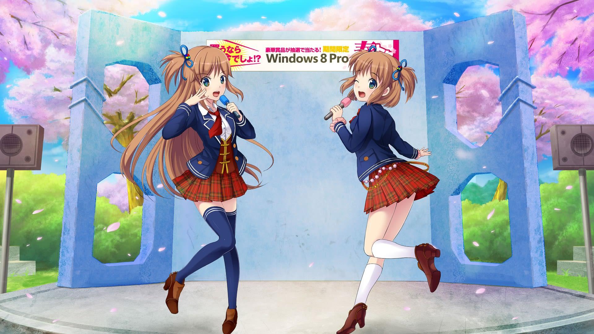 マイクロソフト Microsoft Windows 8 窓辺ゆう(Mad...