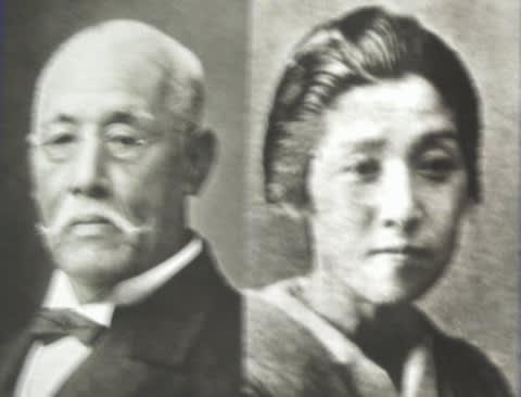 実父母:竹内 綱・瀧子    吉田の実父と義父は若い武士として1868...