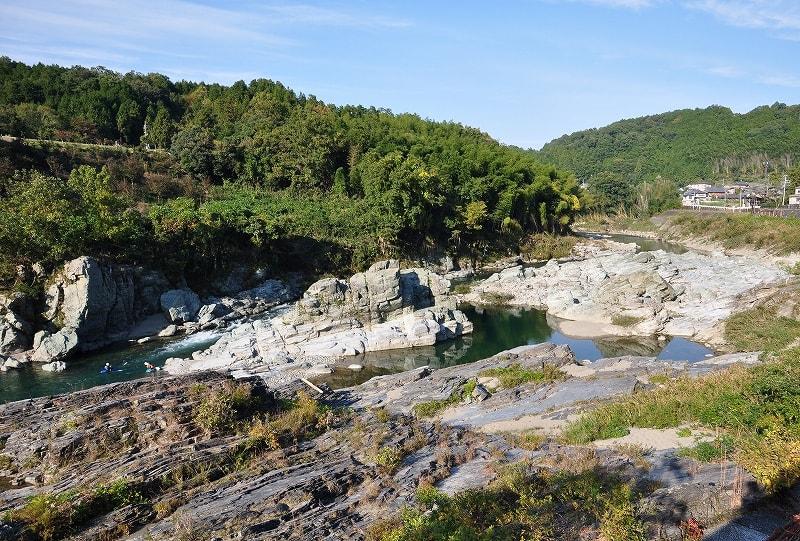 芝崎の奇岩
