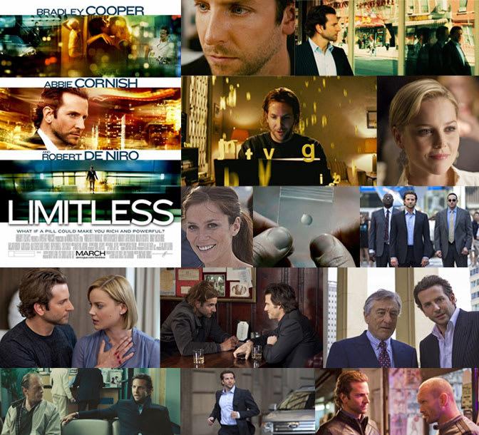 『リミットレス』(2011年) 濃縮。 そして、冴えてる映画。 作家志... 《リミットレス》