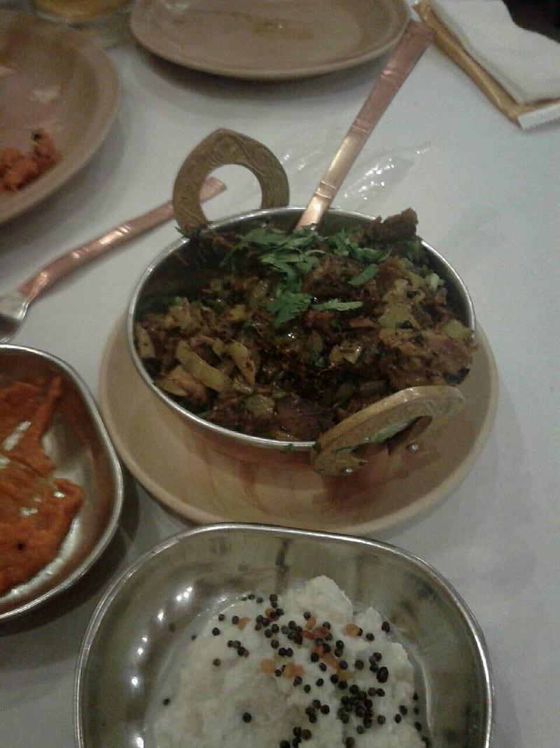 怒濤のインド料理