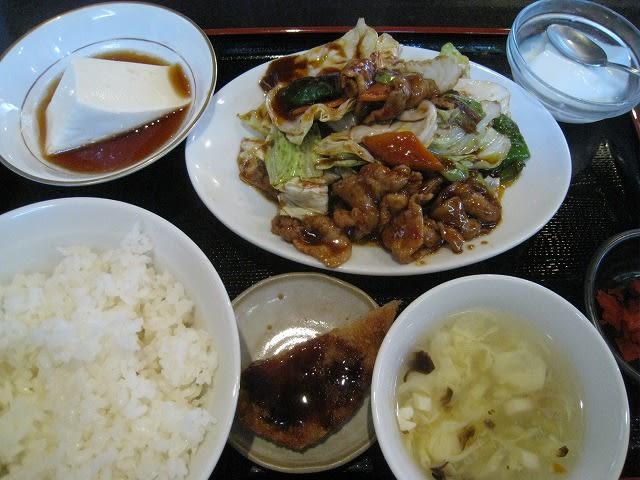 日替わりランチ(回鍋肉)