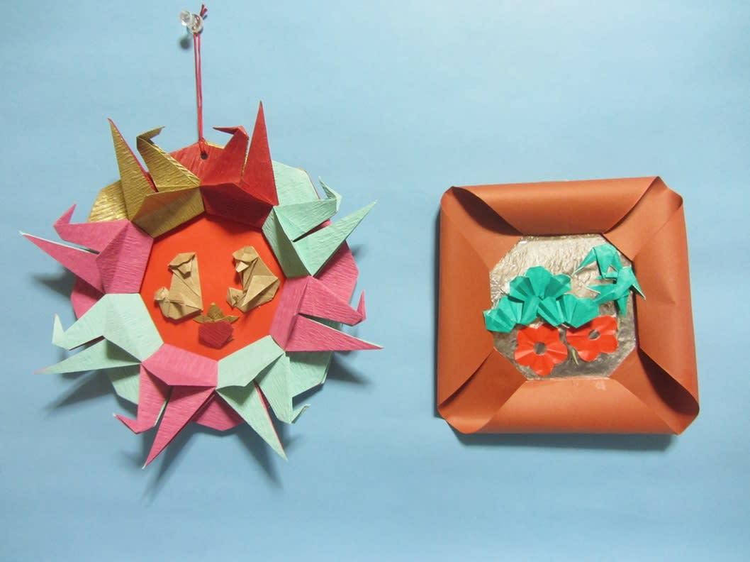 すべての折り紙 折り紙でお正月 : 折り紙でお正月の飾りを ...