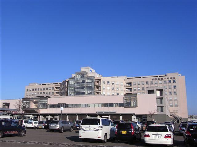 災害拠点病院新潟県立中央病院