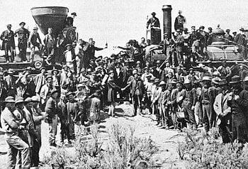大陸横断鉄道とスタンフォード ...