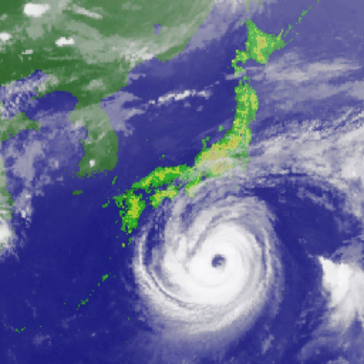 昭和57年台風第10号 - Typhoon Bess ...