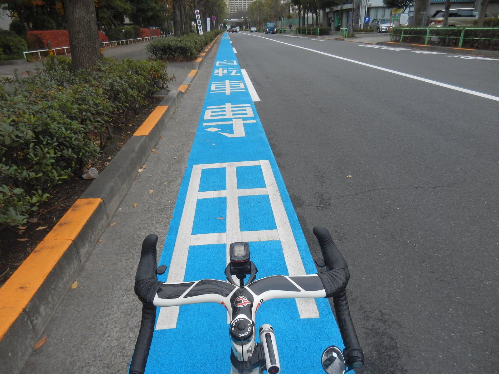 自転車専用?通行帯 - 一歩前進 ...