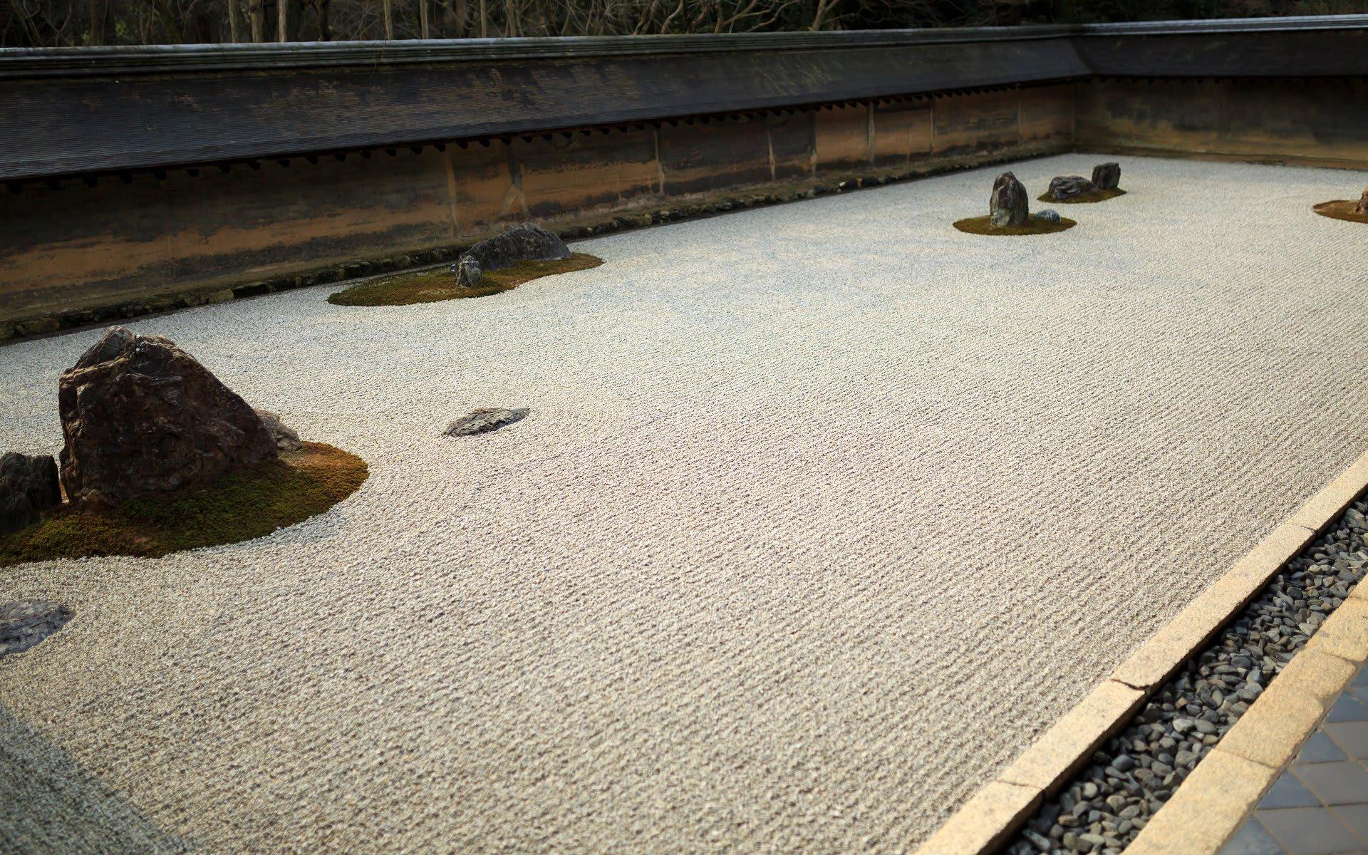 15年冬の京都 龍安寺の壁紙その2 計31枚 壁紙 日々駄文