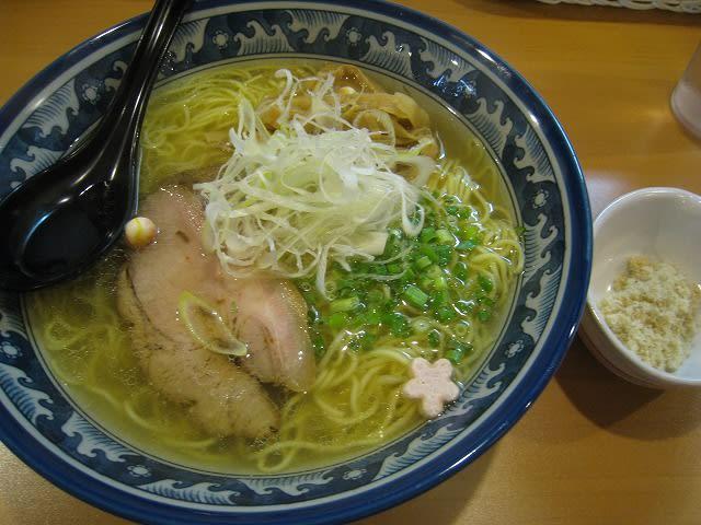 塩らぁ麺(中)