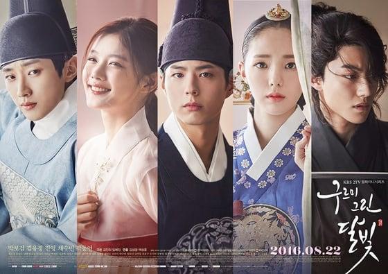 韓国ドラマ、雲が描いた月明かり