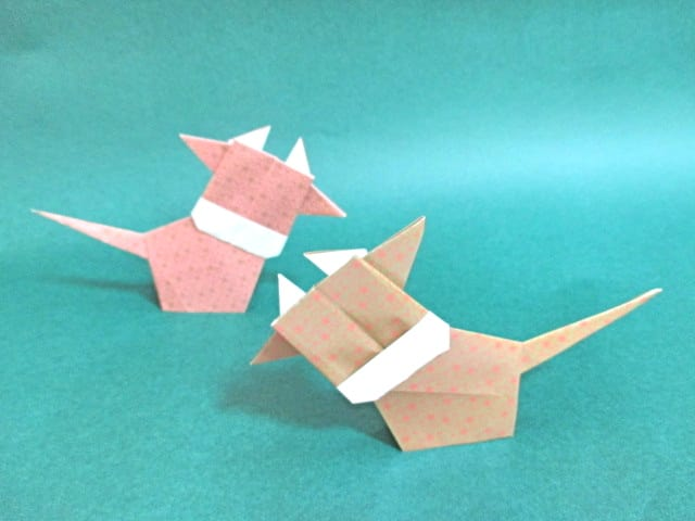 クリスマス 折り紙 折り紙 リボンの作り方 : divulgando.net