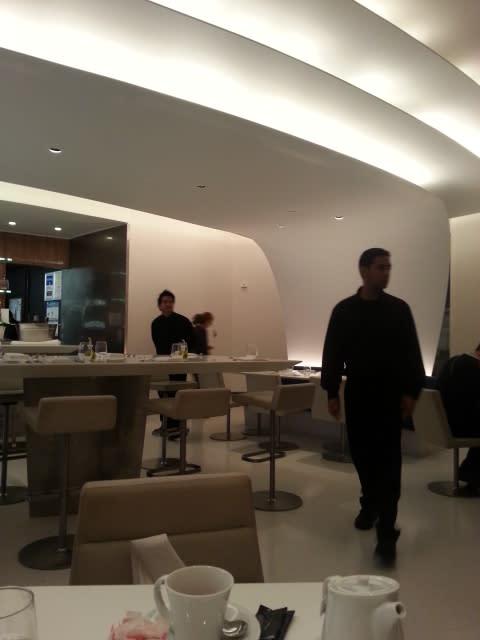 美味しくておしゃれな空間でお食事@グッゲンハイム美術館