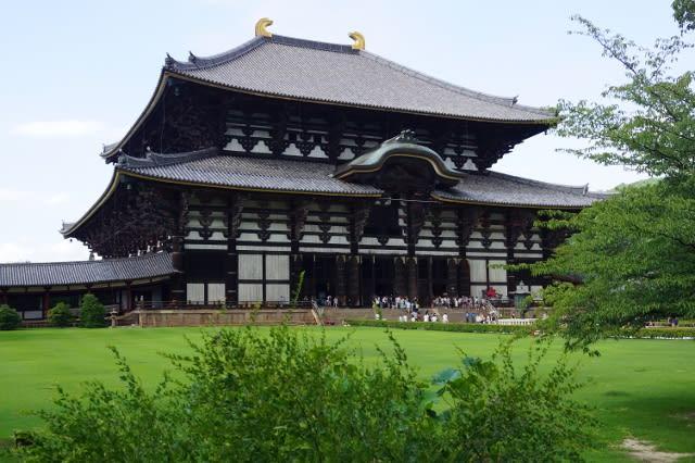 奈良東大寺に行ってきました〜(^^)