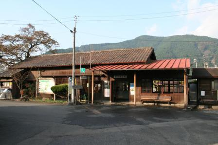 大井川鉄道 駿河徳山駅 - 一日一駅