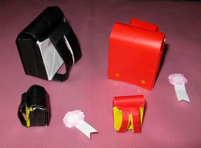 ハート 折り紙 ランドセル 折り紙 折り方 : blog.goo.ne.jp