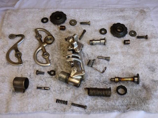 自転車の 自転車 洗浄 : 全て分解した変速機 分解時に ...