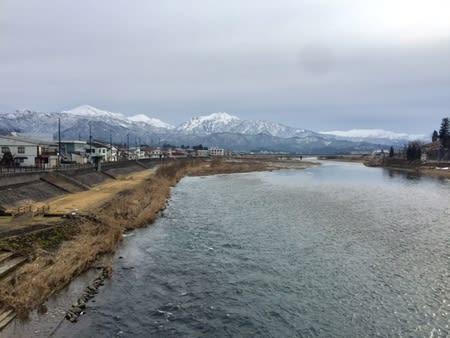 さみしい魚沼冬景色