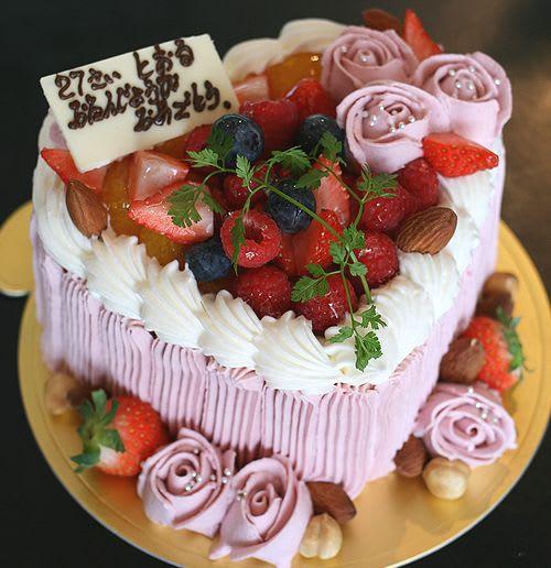 とおるさん お誕生日おめでとうございます。 奥様から素敵な誕生日ケーキの... 世界にひとつだけ