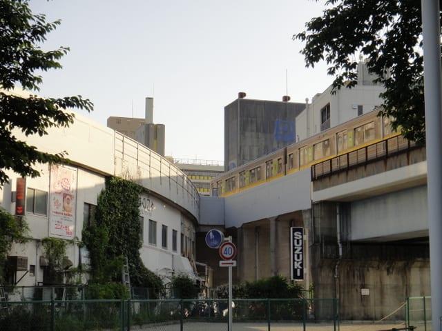 東山線藤が丘駅の先の分岐部