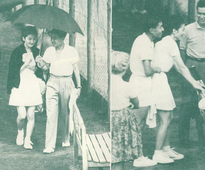 「美智子様 テニス」の画像検索結果