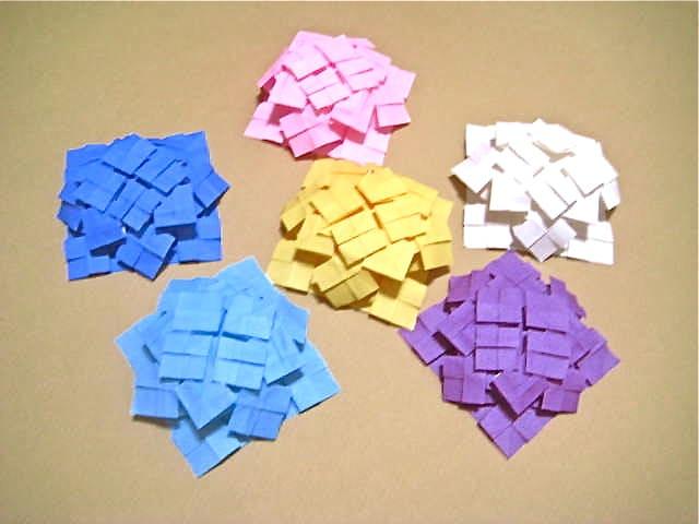 すべての折り紙 コスモス折り紙作り方 : 創作折り紙の折り方・・・