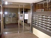 扉の新設とメールボックス設置