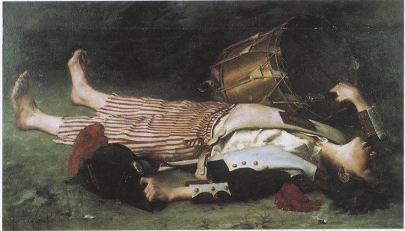 ジョセフ・バラの死【わたしの里の美術館・作品】ダヴィッド