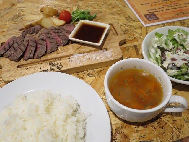 大麦牛サーロインステーキ