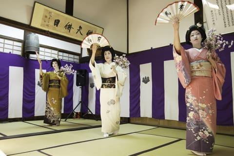 善福寺の夜桜茶会