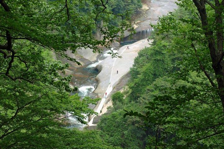 吹割渓谷・第三観瀑台