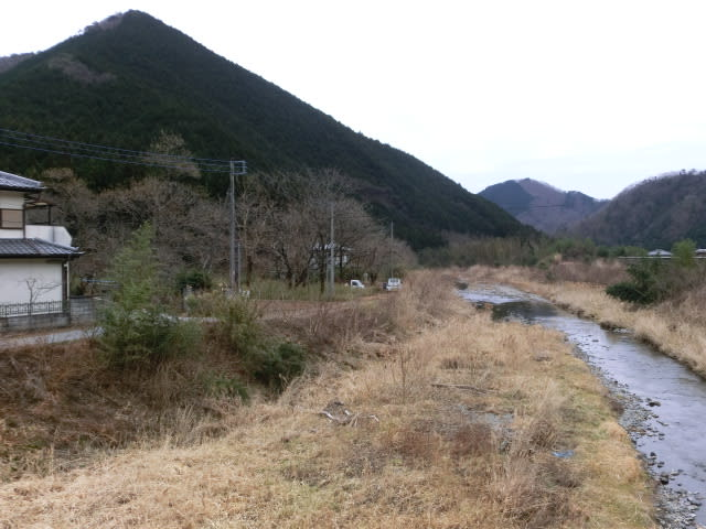 唐沢橋の向こう側
