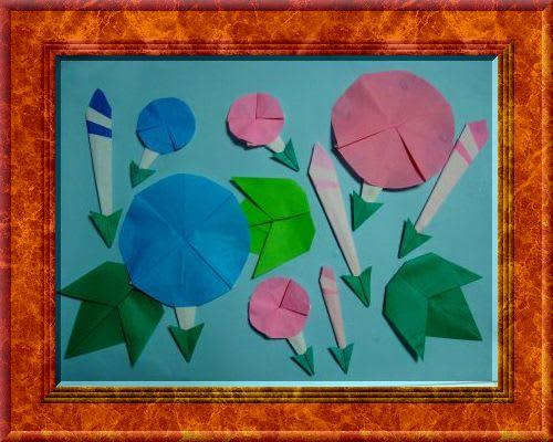 すべての折り紙 あさがお 折り紙 : おりがみ あさがおの作品 ...