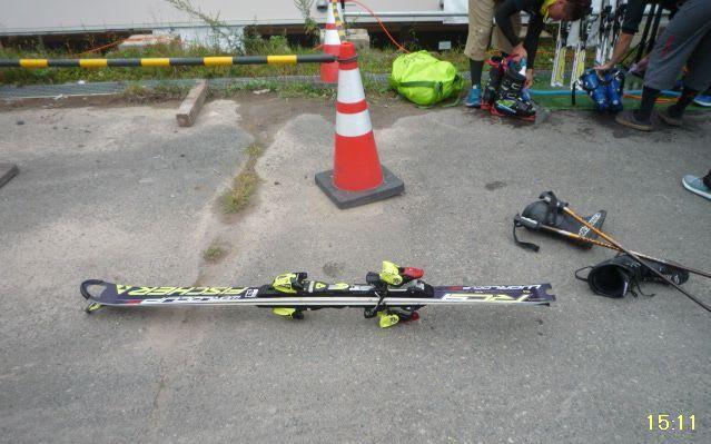 夏スキー?