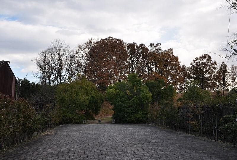 杉山古墳公園入口
