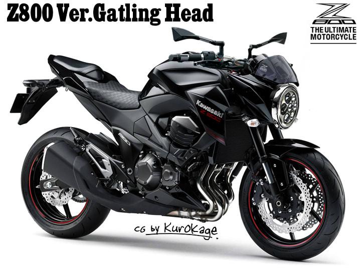 Z800 VerGatling Head