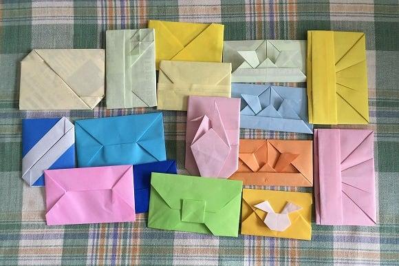 クリスマス 折り紙 折り紙 封筒 : blog.goo.ne.jp