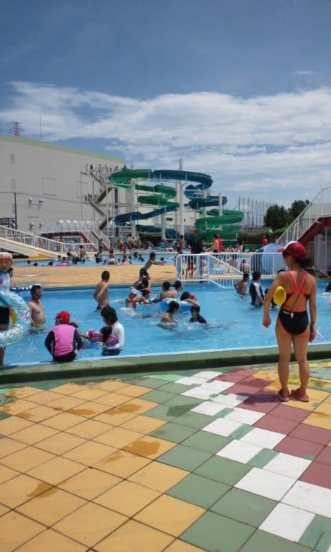浦和市沼影市民プールでの泳ぎ - もっとひろくにくん2007-2018